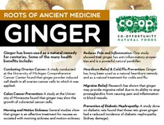 Ginger reduces pain and inflammation Health Facts, Health And Nutrition, Nutrition Education, Healthy Tips, How To Stay Healthy, Healthy Food, Healthy Habits, Health Benefits Of Ginger, Alternative Health