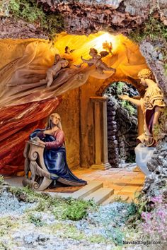 Christmas Nativity Scene, Merry Christmas, Nativity Sets, Virgin Mary, Antelope Canyon, Diorama, Orlando, Statue, Travel