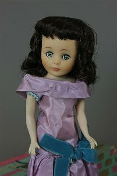 """10"""" AMERICAN CHARACTER TONI WEARING LAVENDER TAFFE - by Apple Tree Auction Center"""