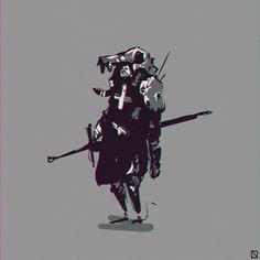 More druid from last night #sketchbook