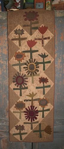 Cheri Payne pattern 'Sewing seeds' available at Daisy Cottage Quilting. <3 <3 <3