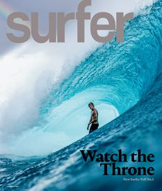morganmaassen:  Newest Surfer Magazine cover of John John Florence, taken at Teahupoo, Tahiti!