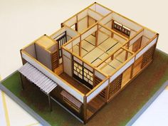 Japanese Style House, Traditional Japanese House, Japanese Interior Design, Architecture Concept Drawings, Japan Architecture, Japan House Design, Japan Interior, Casas The Sims 4, 3d Home