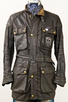 Whether Belstaff or Barbour. These jackets are cool.