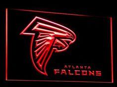 Atlanta Falcons Neon Lights