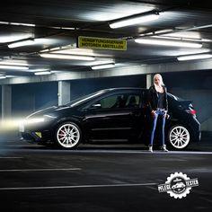 Luisa (25), sie stellt Euch heute ihren 200-PS starken Honda Civic Type R vor.