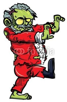 Cartoon zombie santa with one boot - Buy this stock vector and explore similar vectors at Adobe Stock Zombie Cartoon, Zombie Art, Tattoo Clothing, Creepy Stories, Macabre Art, Halloween Cartoons, Scary Places, Cartoon Coloring Pages, Halloween Pictures