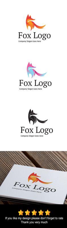 Fox Logo by goodigital13 on @creativework247