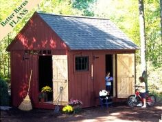 Plywood Colonial 10 x 16 Plan (120 sq ft). Separate into a play room and a shed like popular mechanics did http://www.popularmechanics.com/home/improvement/1276231-17