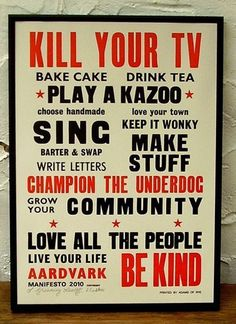 Words to Live By: Prints and Posters