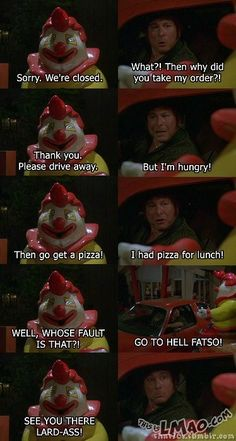 ROFL, this is funny Bob vs Fatso Burger | #clown, #Bob, #fatso, #seventy, #70s, #show, #fight, #funny