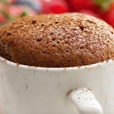Chocolate Espresso Soufflés by Tasty