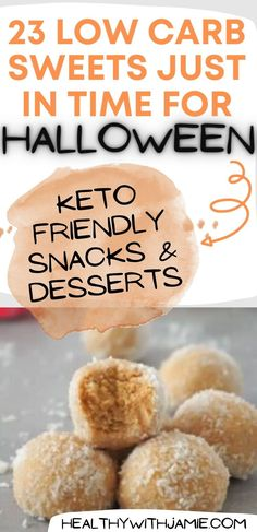 Low carb sweets and snacks are important to have on hand to keep you on your healthy journey. If you find yourself without a keto friendly snack, it could sabotage your commitment and nobody needs that! Following a no sugar, low carb lifestyle can completely change your health. Test out all of these low carb, keto approved sweets for yourself this season!
