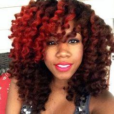 my dream hair colour ❤️ #naturalhair #redcolour