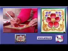 Pinceles para fileteado porteño - YouTube