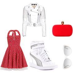 she meets the family Meet, Polyvore, Image, Fashion, Moda, Fashion Styles, Fashion Illustrations