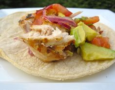 Grilled Swordfish with Avocado Salsa