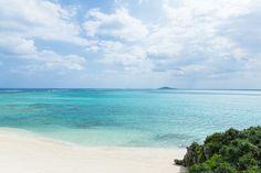 Scenic tropical beach, Ikema Island, Japan