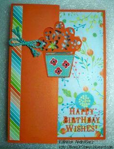 Life's like a Bowl of Stamps: Seasonal Expressions 2 Blog Hop #Blossom #ArtfullySent