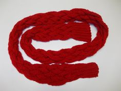 Amy Pond Inspired Red Scarf via Etsy