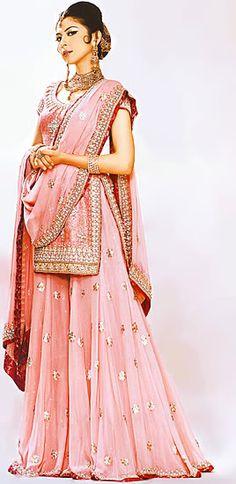 Pretty, pretty pink #lehenga