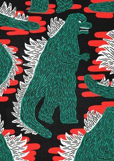 Godzilla hype - Thomas Howes