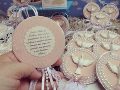 First Communion, Baby Shower Parties, Handicraft, Christening, Decoupage, Favors, Mandala, Recycling, Alice