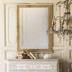 Eloquence® Marcel Panel Mirror in Toasted Almond Eloquence Marcel Panel Mirror in Toasted Almond finish. A stately rectangular mirror with a classically carved frame. The linear design will add sophistication to any wall space, while the aged glass adds old world charm.