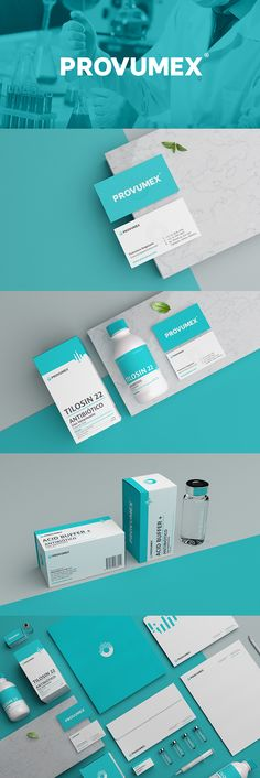 Provumex by Menta Picante branding Creative Medical Branding and Healthcare Logos for Inspiration Corporate Identity Design, Brand Identity Design, Branding Design, Logo Design, Graphic Design, Food Branding, Pizza Branding, Identity Branding, Bakery Branding
