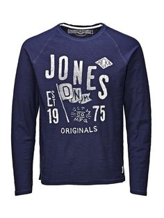 RAGLAN T-SHIRT À MANCHES LONGUES - Jack & Jones