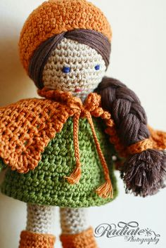 Eve by abagfullofcrochet how to make doll not pattern
