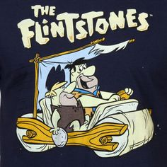 The Flintstones T-Shirt: 80s Cartoons Flintstones T-shirt