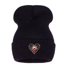 Ralferty Spider Web Winter Hat For Women Men Girl 's Hats Knitted Beanies Cap Brand New Female Headgear Skullies Beanie Gorros
