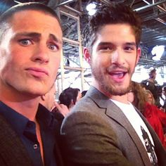 Colton and Tyler Posey