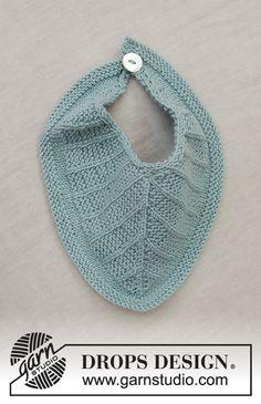 Baby Business Set / DROPS Baby 33-20 - Kostenlose Strickanleitungen von DROPS Design Baby Knitting Patterns, Free Knitting, Drops Baby, Drops Design, Magazine Drops, Baby Barn, Crochet Diagram, Stockinette, Knitted Gloves