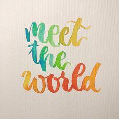 Letter Lovers derherrlehrer: Handlettering meet the world