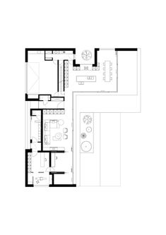 Small House Design, Cool House Designs, Home Design Plans, Plan Design, Concept Architecture, Residential Architecture, Modern House Plans, House Floor Plans, Bruges