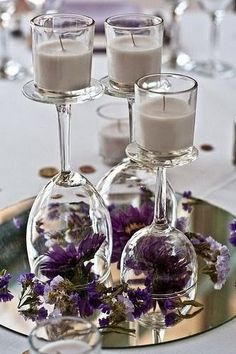 DIY Wedding Centerpiece Ideas for the Budget-Minded Bride. | Read more: http://simpleweddingstuff.blogspot.com/2015/03/diy-wedding-centerpiece-ideas-for.html