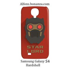 Star Lord Superhero Samsung Galaxy S4 S IV Hardshell Case