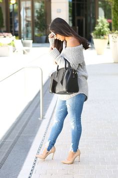 How to wear a sweater in the summer     SIMPLY SABRINA
