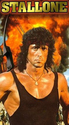 Sylvester Stallone in First Blood Sylvester Stallone Rambo, Arnold Schwarzenegger Bodybuilding, Brian Dennehy, Stallone Rocky, Silvester Stallone, David Caruso, John Rambo, Film D, First Blood