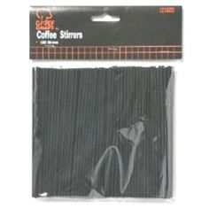 Coffee Stirrer Straws Case Pack 24