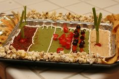 Milk-free, Nut-free Superbowl snack stadium -- Trick out your game day foods! from Get Allergy Wise