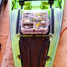 Kayak Fishing Blog takes a look at the Flambeau Waterproof Satchel + Base Cage tackle system. Is it a good fit for anglers? Read about it here. Fishing Stuff, Kayak Fishing, Kayak Accessories, Kayaking Gear, Kayaks, Cage, Backpack, Satchel, Camping