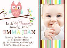 Branch Owl Invitation