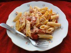 Zapekané cestoviny s paradajkami a mozzarellou - recept Macaroni And Cheese, Ethnic Recipes, Food, Mac And Cheese, Essen, Meals, Yemek, Eten