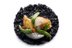 Gennaro Esposito | Mantecato di patate al nero di seppie, pomodoro concentrato e peperoncino verde