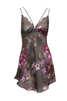 Halka  | Chemise  |  #halka #bielizna #flowers #koronka #seksowna #romantyczna #chemise #lingerie #sexy #romantic #lace #intimate #annebra
