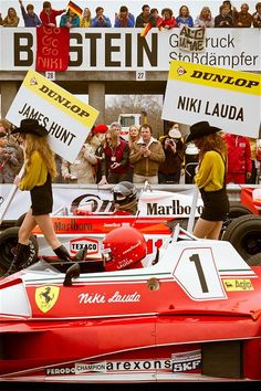 Lauda vs Hunt
