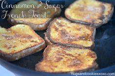 sugar french toast